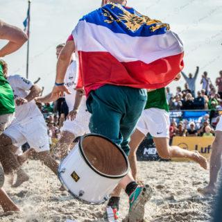 2015 – Die Rostocker Robben gewinnen die deutsche Beachsoccer Meisterschaft
