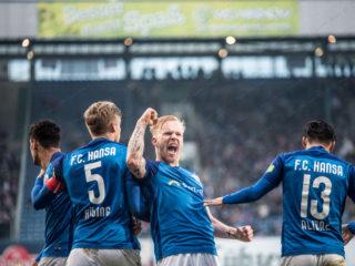 3.Liga – 17/18 – FC Hansa Rostock vs. Fortuna Koeln – Marcel Hilssner