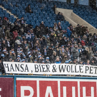 3.Liga – 17/18 – FC Hansa Rostock vs. Chemnitzer FC – Hansa Bier & Wolle Petry