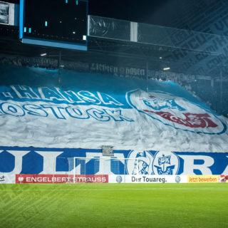 DFB Pokal 18/19 Hansa Rostock – 1 FC Nürnberg